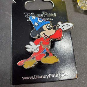 Disney Parks Sorcerer Mickey Mouse Pin, New